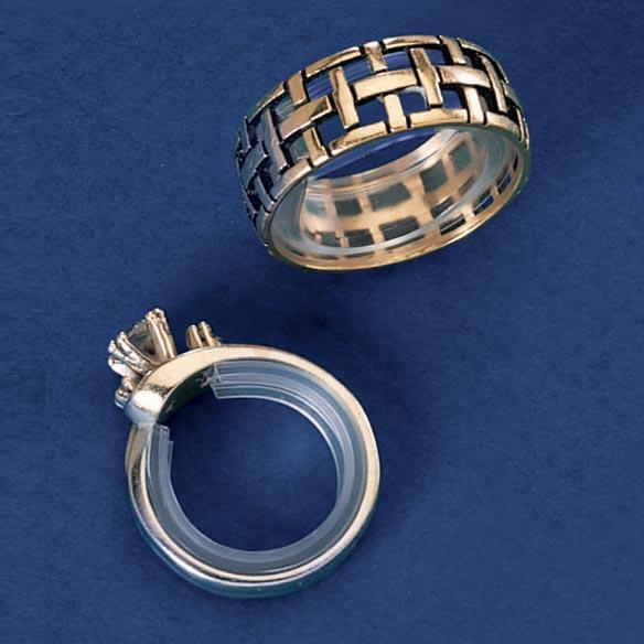 Как в домашних условиях уменьшить золотое кольцо