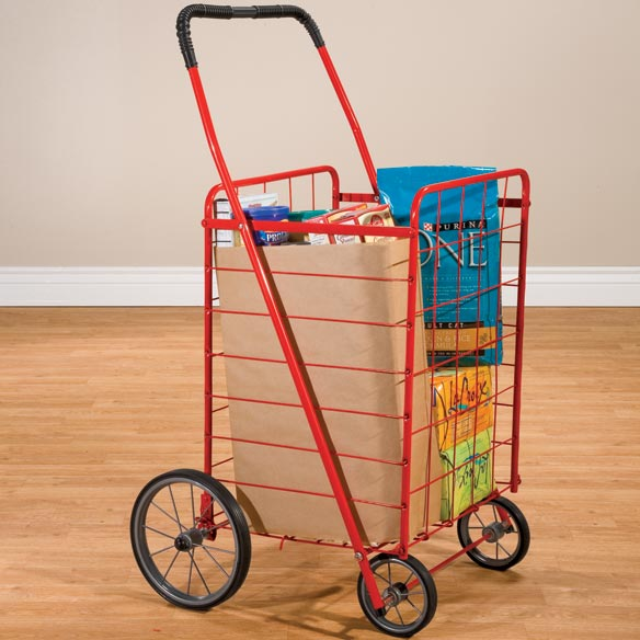 Folding Grocery Shopping Cart