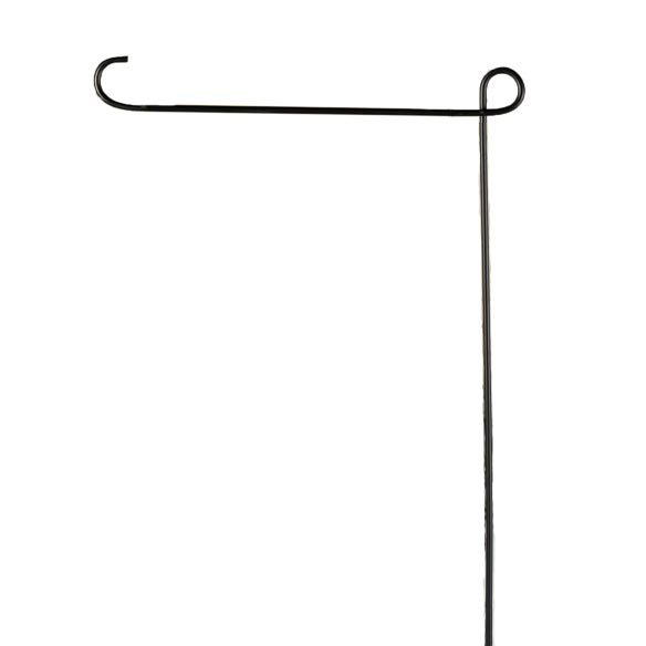 garden flag pole pole for personalized flags miles kimball. Black Bedroom Furniture Sets. Home Design Ideas