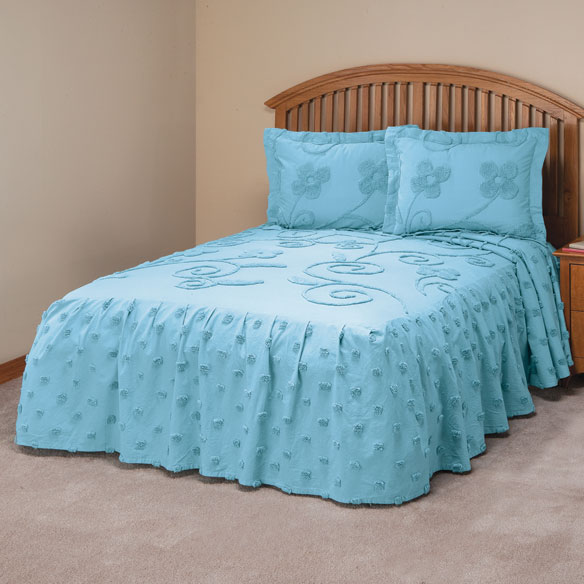 Fitness Dvd Sham: The Emily Chenille Bedspread