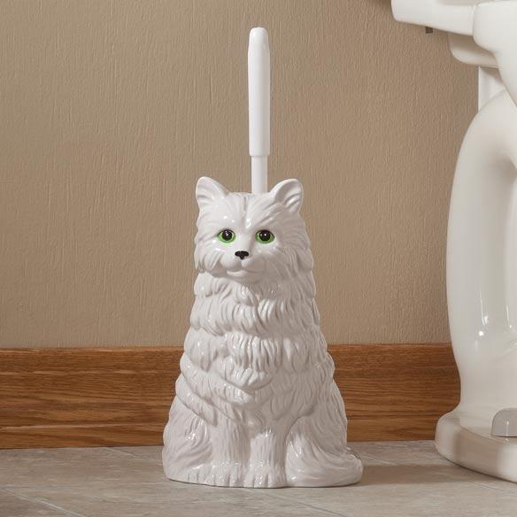 Cat Toilet Brush Holder Uk