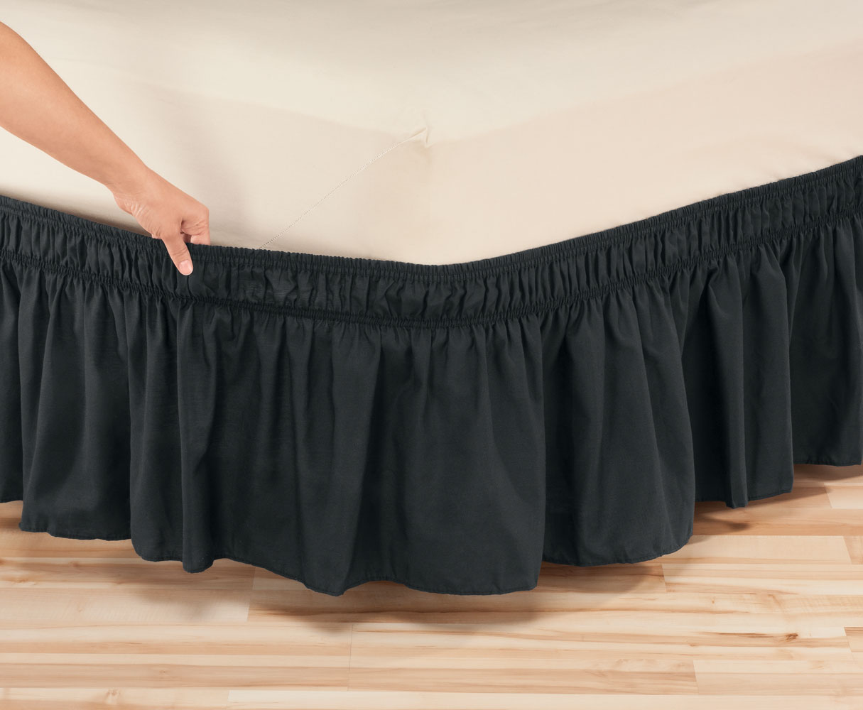 Solid Bed Skirt 55