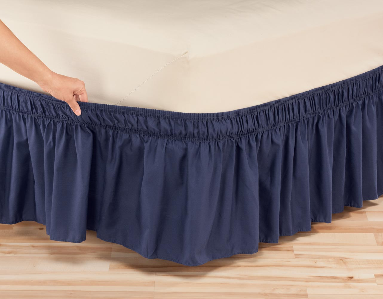 Solid Bed Skirt 58
