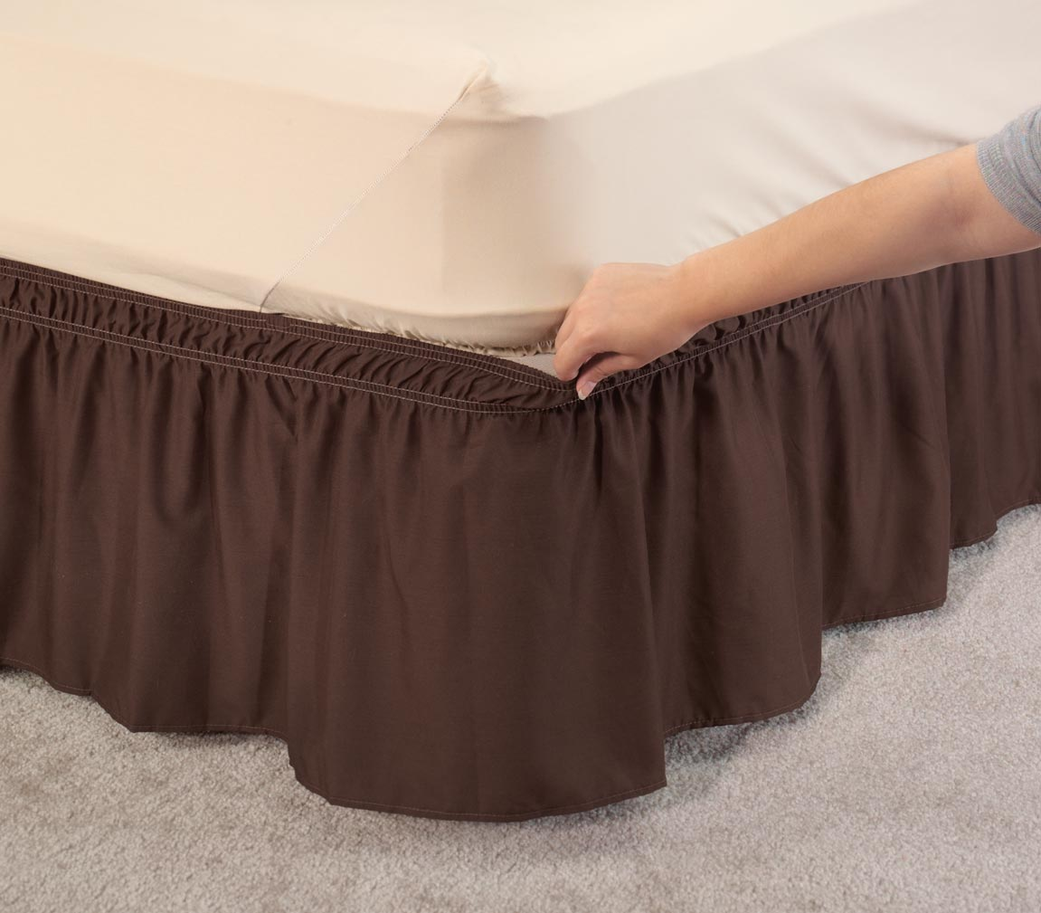 Solid Bed Skirt 102