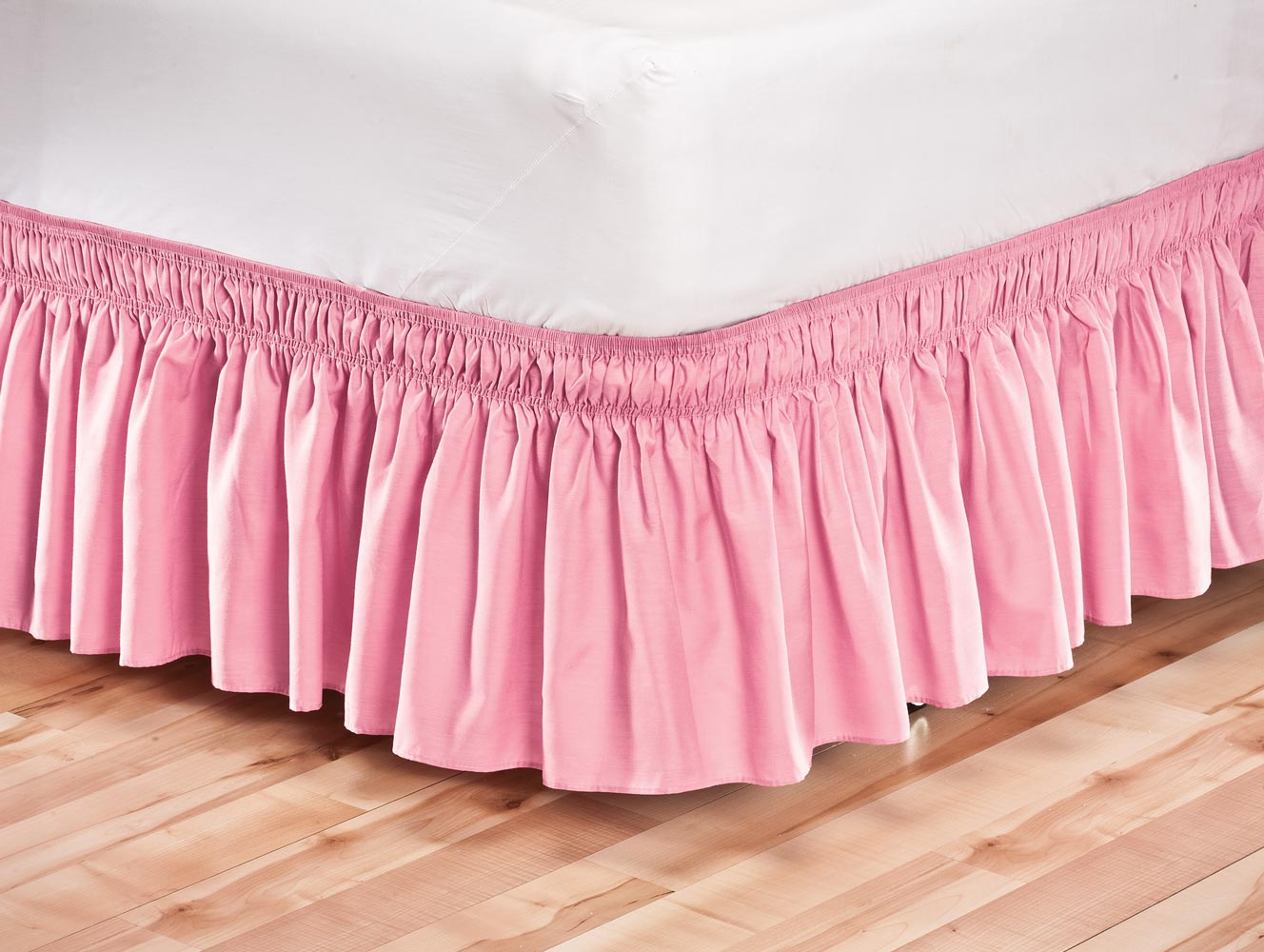 Solid Bed Skirt 5