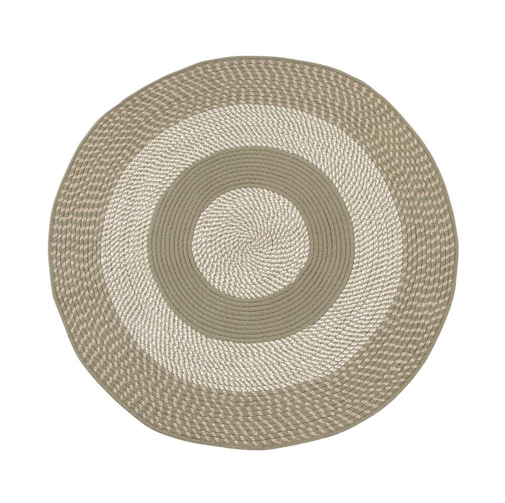 Multi Color Non Slip Braided Round Rug By Oakridgetm Ebay