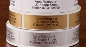 Address Labels & Envelope Seals
