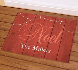 10% Off Personalized Doormats