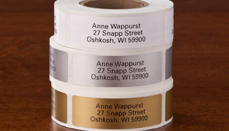 Address Labels & Envelope Seals