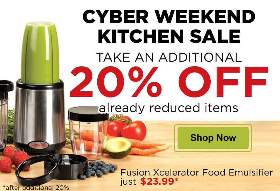 Cyber Weekend Kitchen Deals