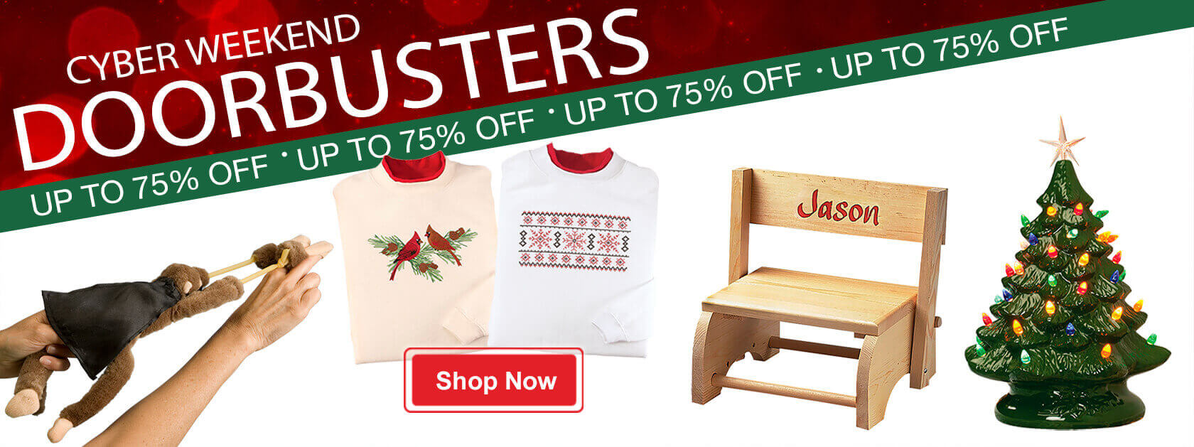 Cyber Weekend Doorbusters