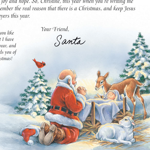 get a letter from santa inspirational personalized letter from santa kimball 34857