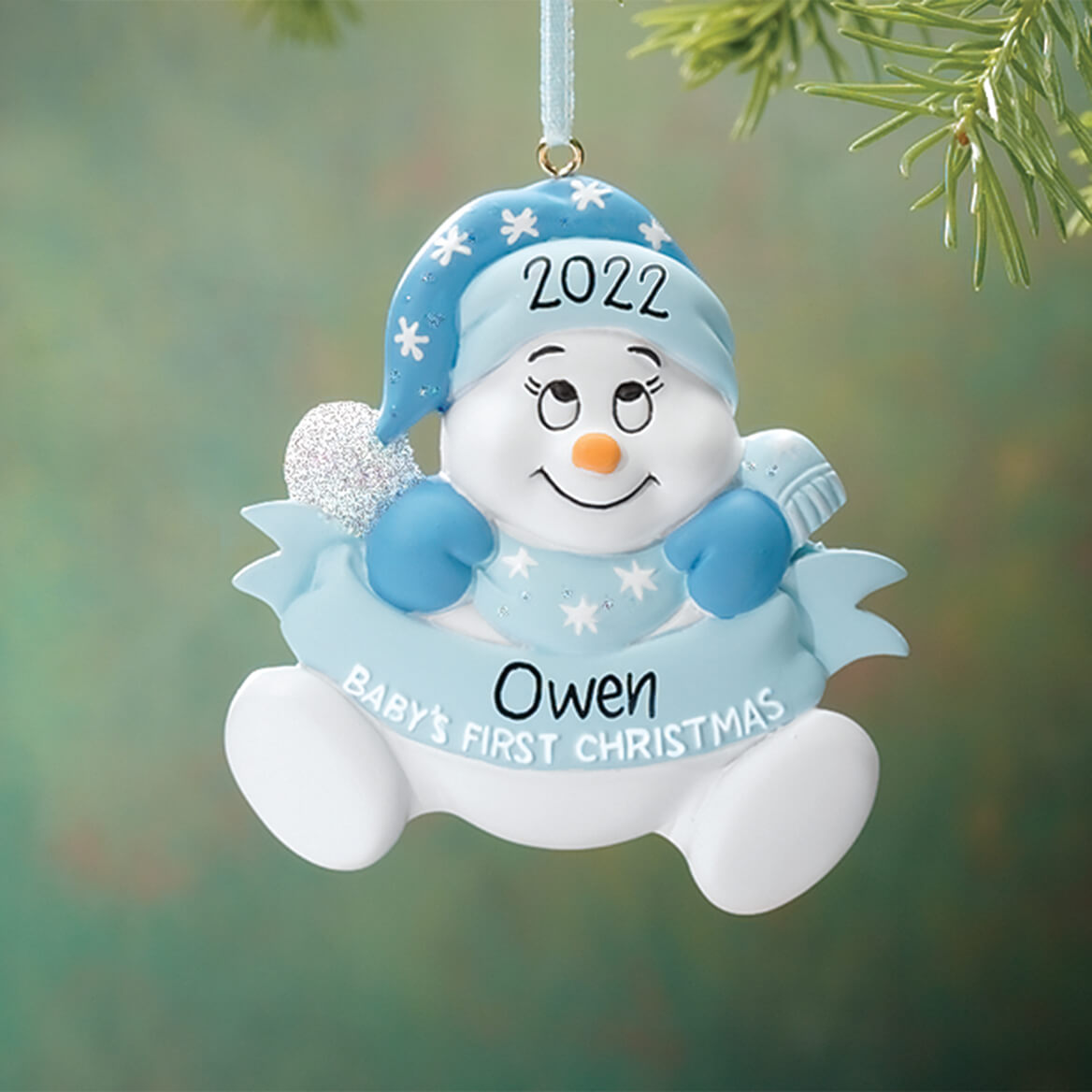 Personalized Baby's First Christmas Ornament - Miles Kimball