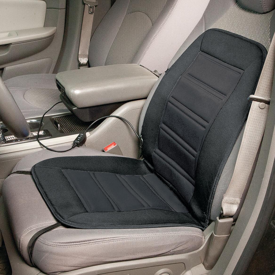 heated auto seat cushion car seat cushion miles kimball. Black Bedroom Furniture Sets. Home Design Ideas