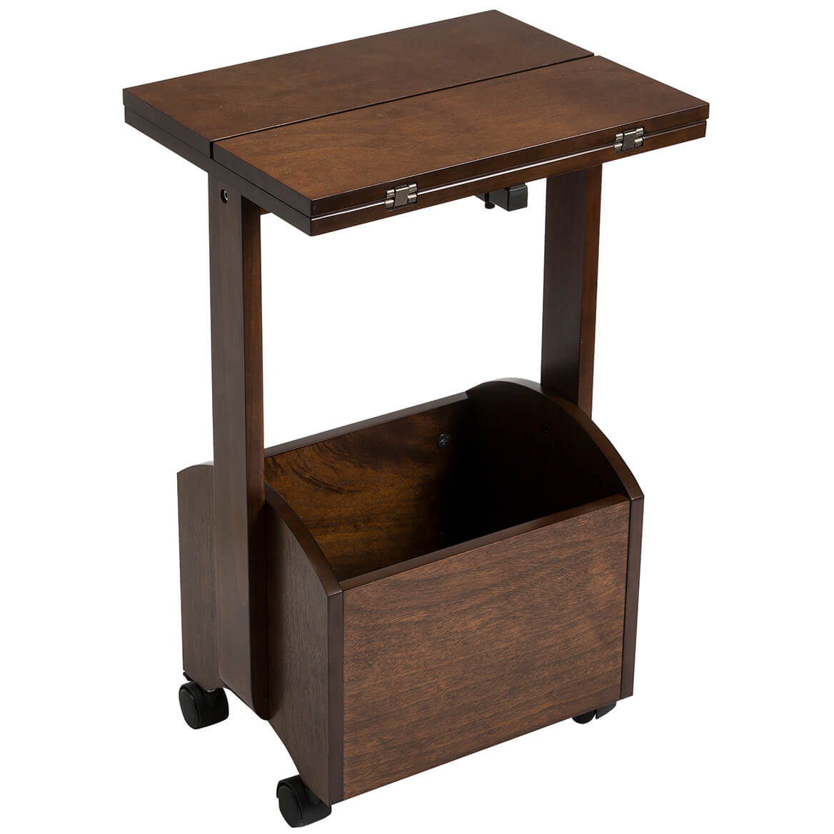 Rolling Folding Side Table By OakRidge™ Accents