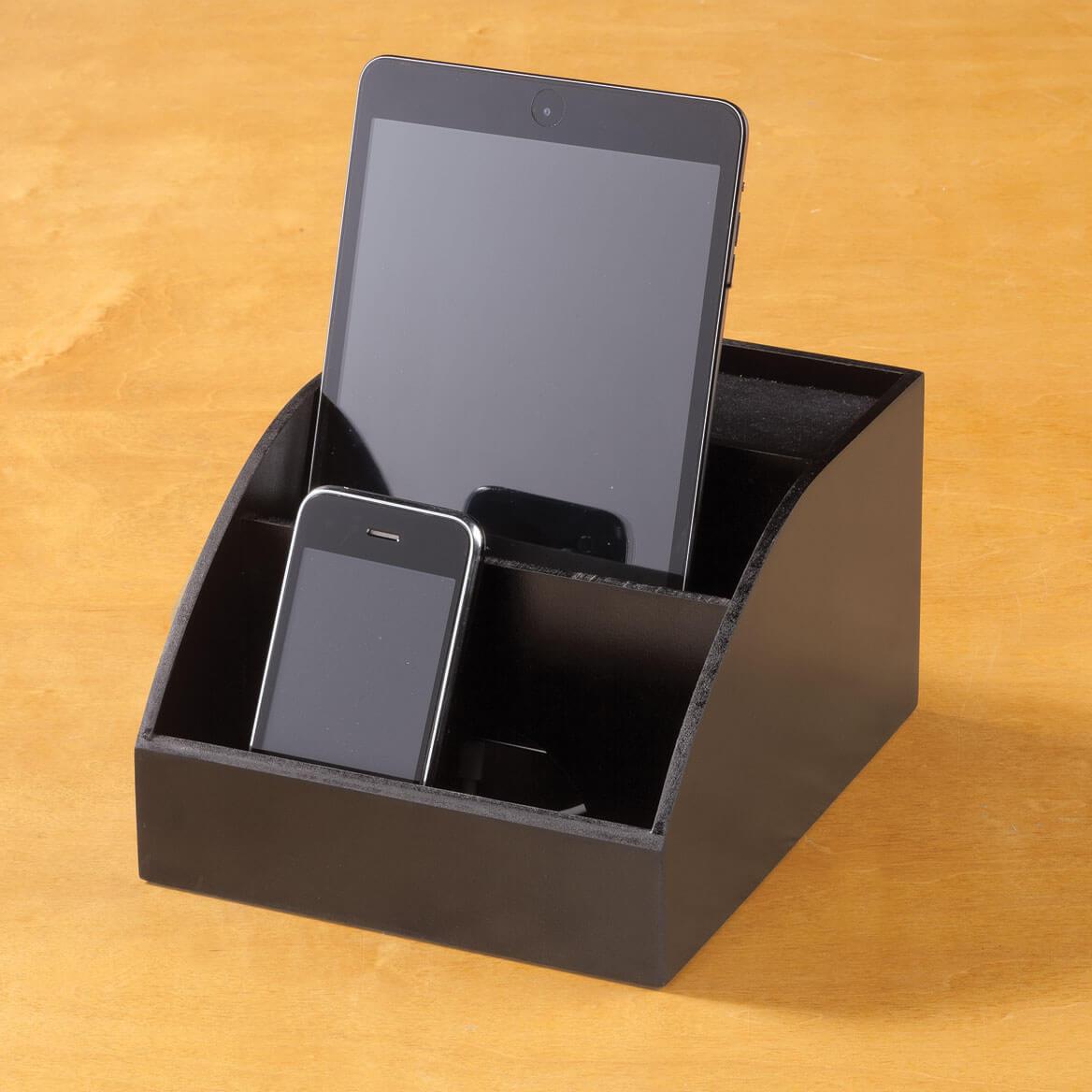 desktop electronic charging station organizer miles kimball. Black Bedroom Furniture Sets. Home Design Ideas