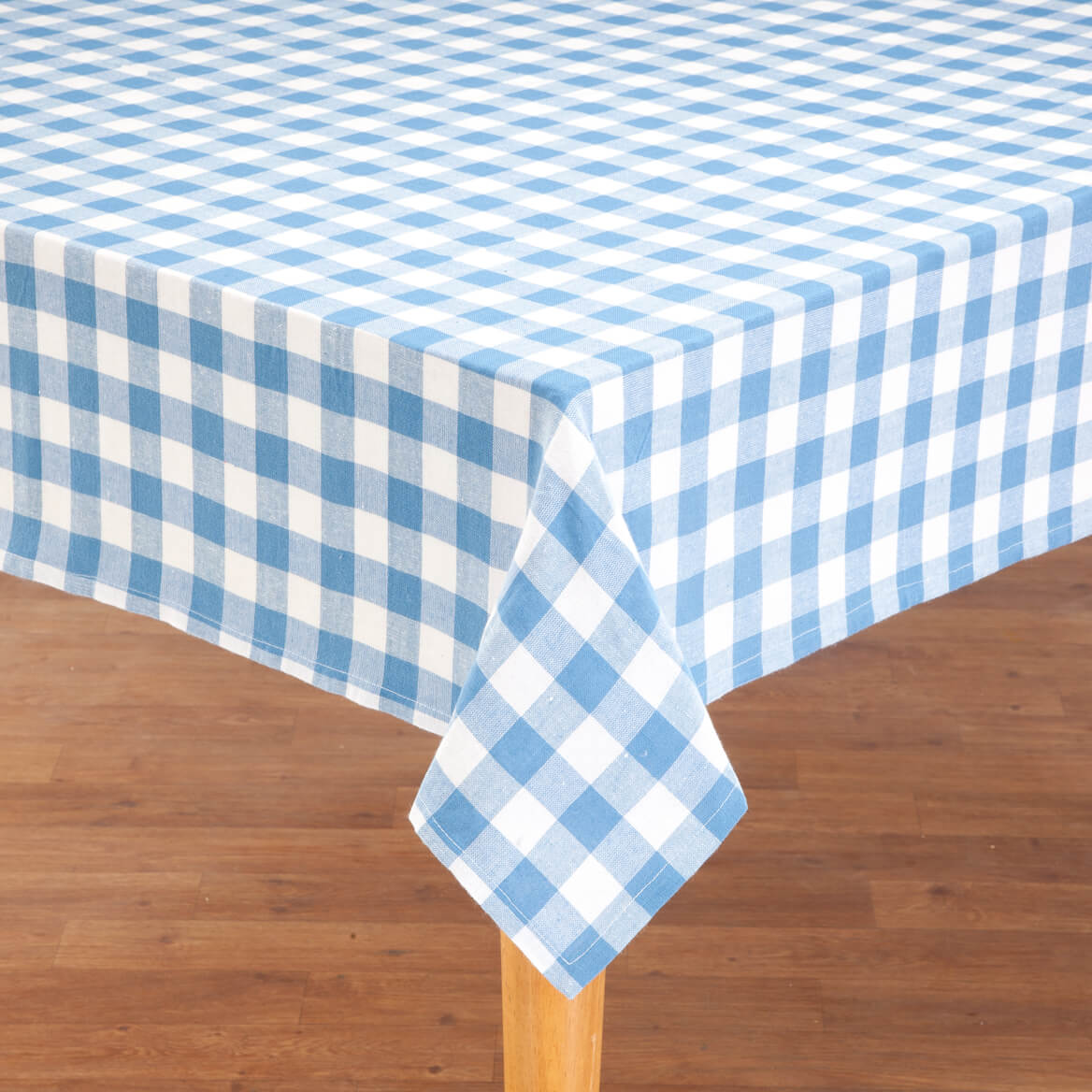 Delightful 100% Cotton Gingham Tablecloth 359112
