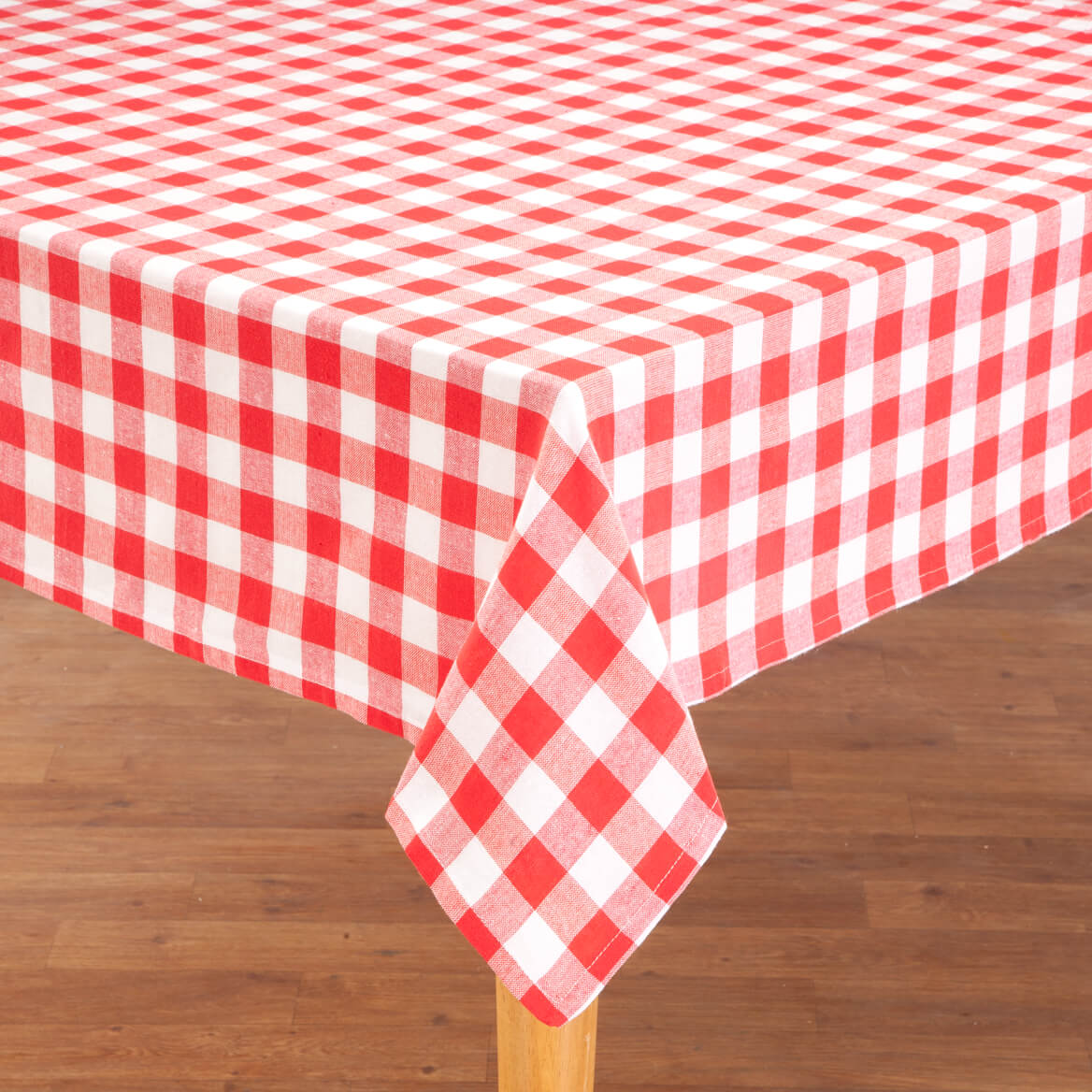 Good 100% Cotton Gingham Tablecloth 359112