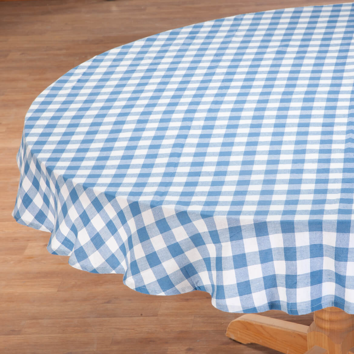 Amazing 100% Cotton Gingham Tablecloth 359112