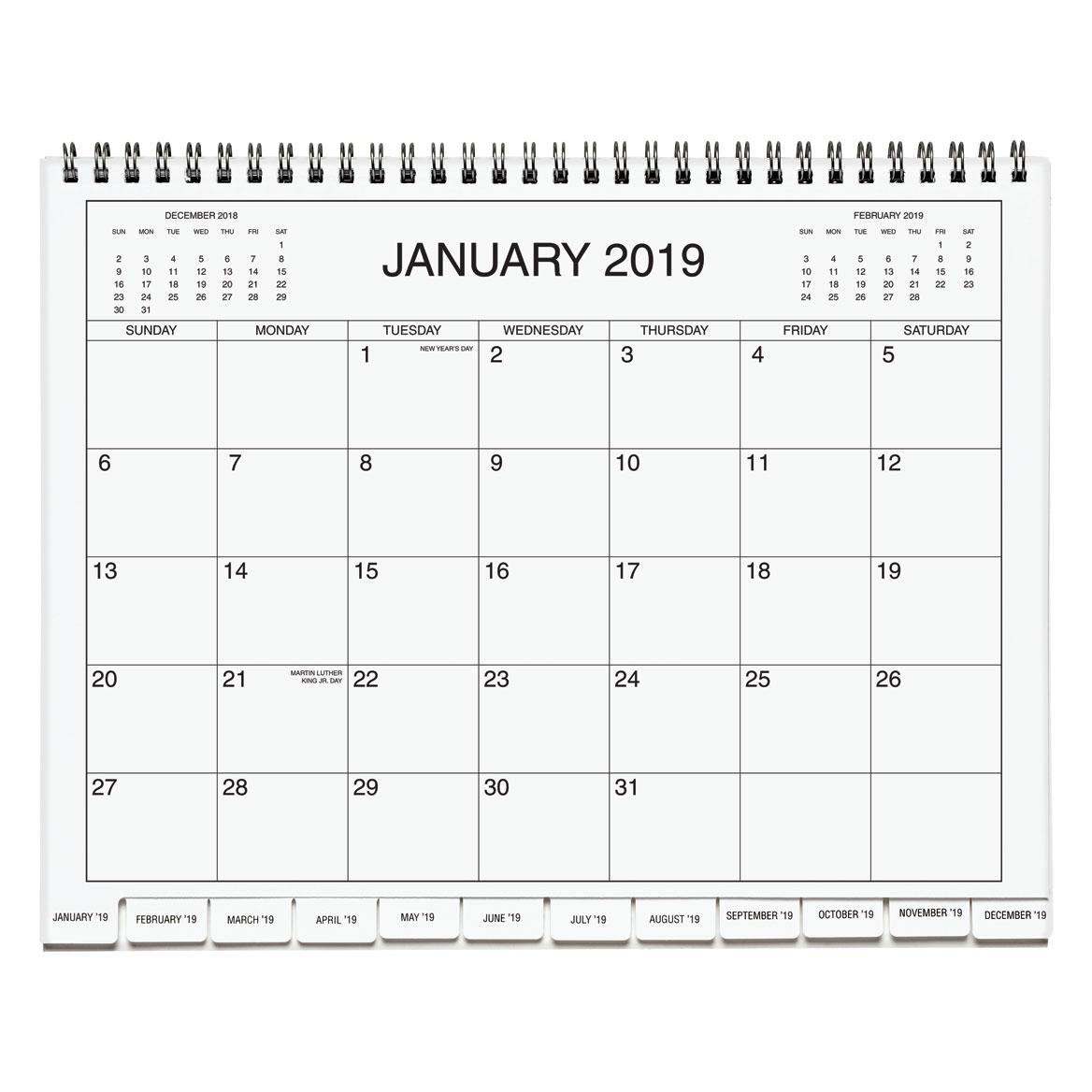 3 Year Calendar Diary 2019-2021 - Calendar Organizers ...