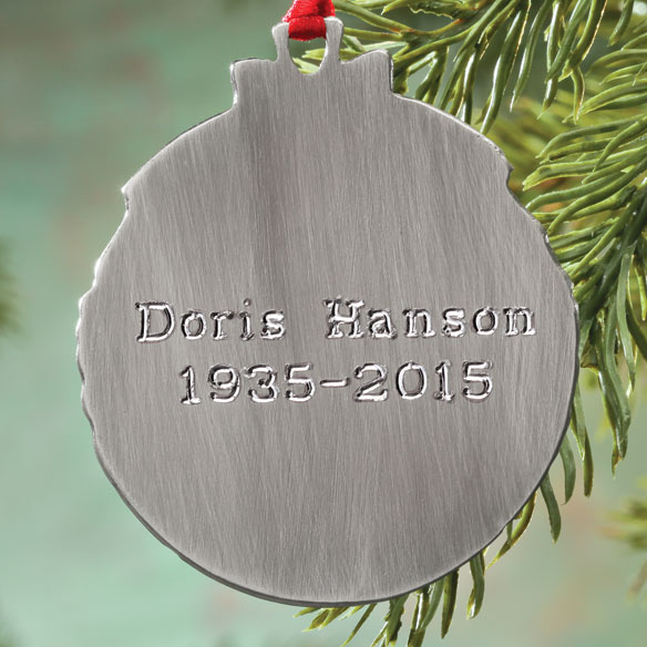 Memorial Ornament - View 2