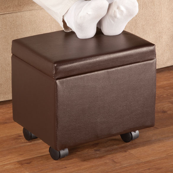 Flip Top Storage Ottoman by OakRidge™ Accents - View 2