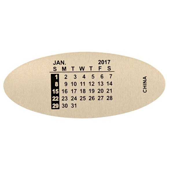 Watch Band Calendars - View 2