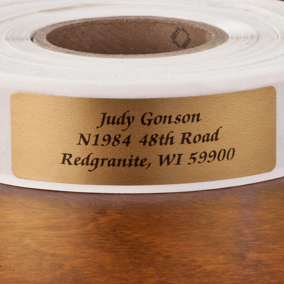 Calligraphy Address Labels - Roll of 500 - View 2