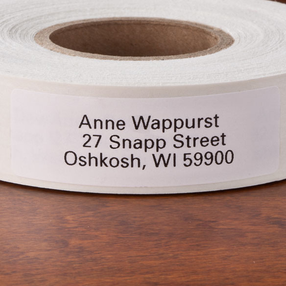 Self Stick Address Labels - Roll of 500 - View 4