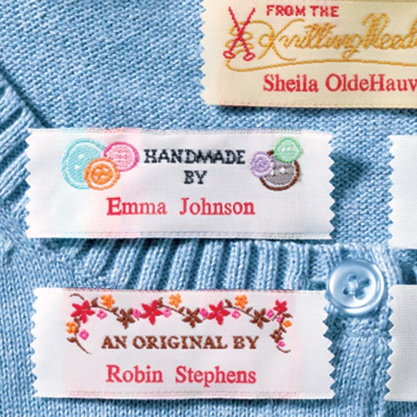 Personal Handiwork Labels - Pack Of 20 - View 2