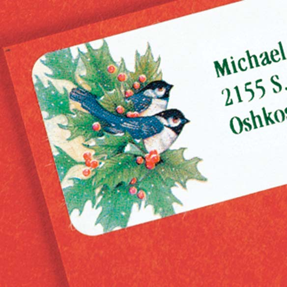 Winter Chickadee Address Labels - Set of 200 - View 2