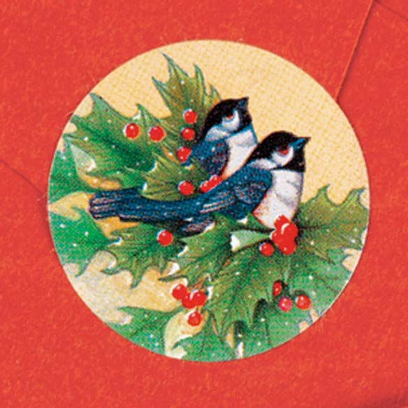 Winter Chickadee Address Labels And Seals Set - View 2