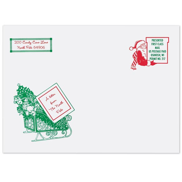 Inspirational Personalized Letter From Santa - View 2