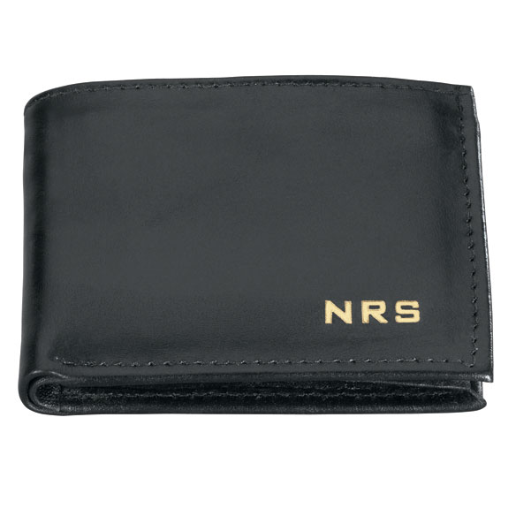 Personalized Leather Wallet - View 2