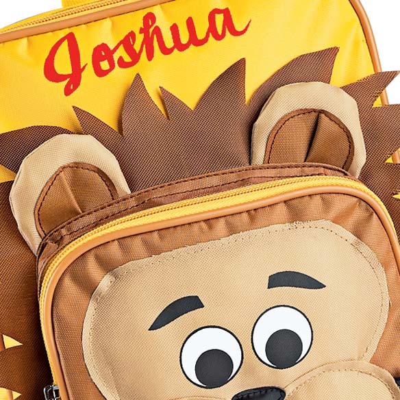 Personalized Lion Backpack - View 3