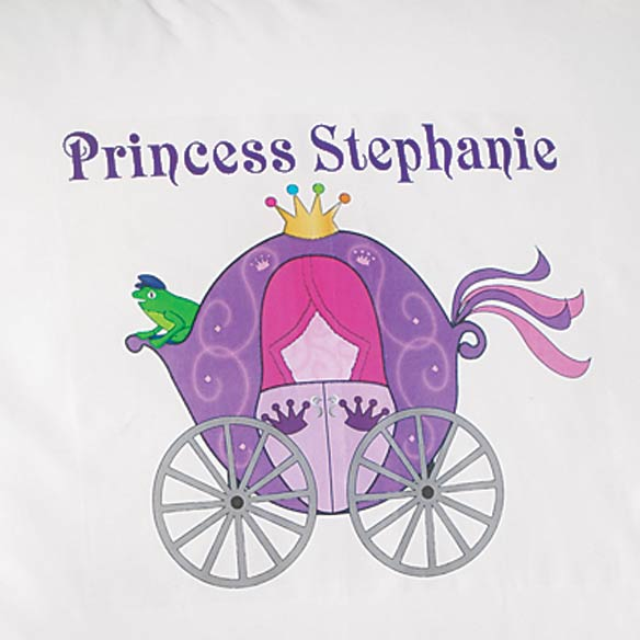 Personalized Princess Pillowcase - View 2
