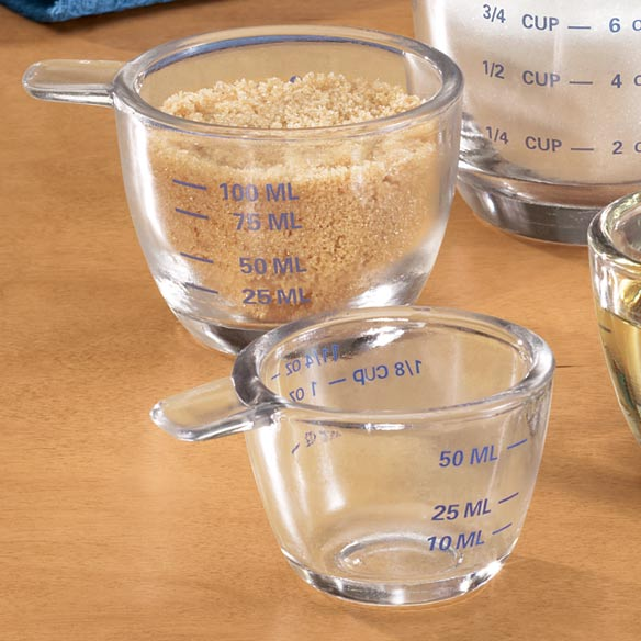 Glass Measuring Cup Set - View 3