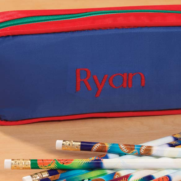 Personalized Sports Pencil Case - View 3