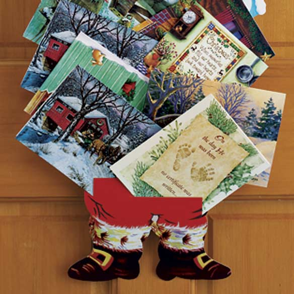 Santa Christmas Card Holder - View 3