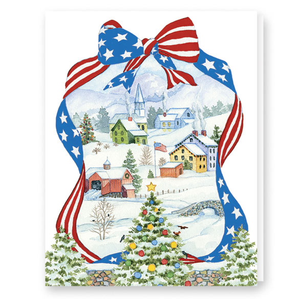 Red, White, and Blue Wishes Card Set - View 2
