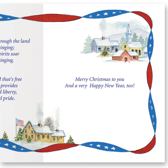 Red, White, and Blue Wishes Card Set - View 4