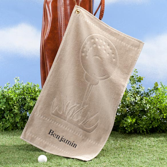Personalized Golf Towel - View 2
