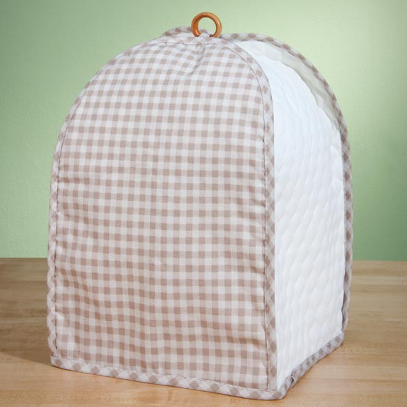 Gingham Appliance Cover Mixer/Coffee Maker - View 2