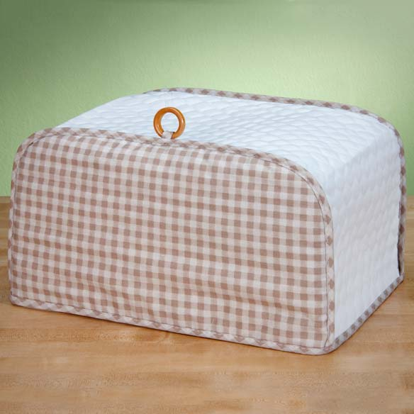 Gingham Appliance Cover Toaster Oven - View 2