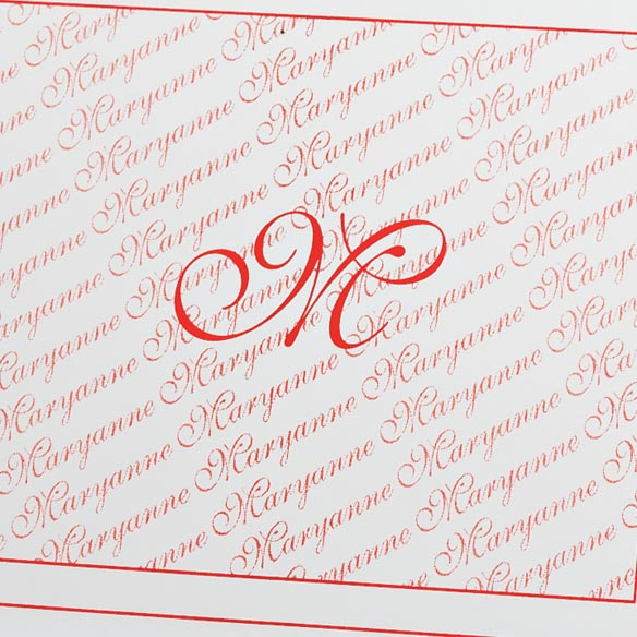 Monogrammed Note Cards - View 2