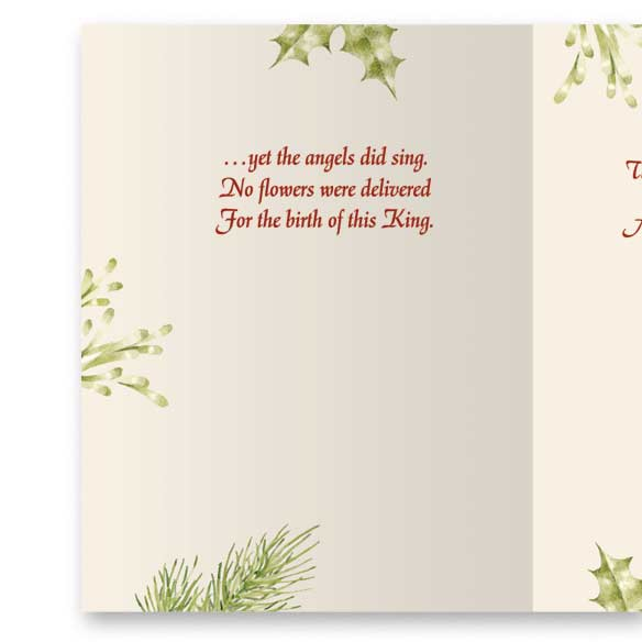 Christmas Certificate Non-Personalized Card Set of 20 - View 3