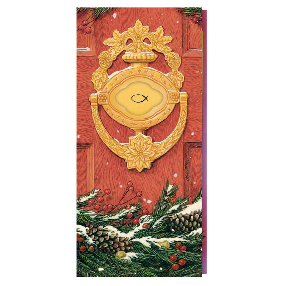Door Knocker with Symbol Card Set of 20 - View 2