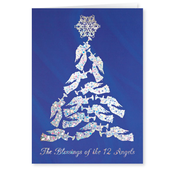 Blessing of the 12 Angels Christmas Card Set of 20 - View 2