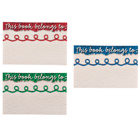 Yarn Bookmarks & Bookplates Set - View 2