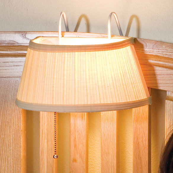 Over-the-Bed Light With Shade - View 2